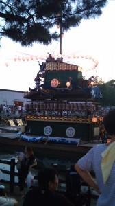 津島天王祭り まきわら船(準備中)