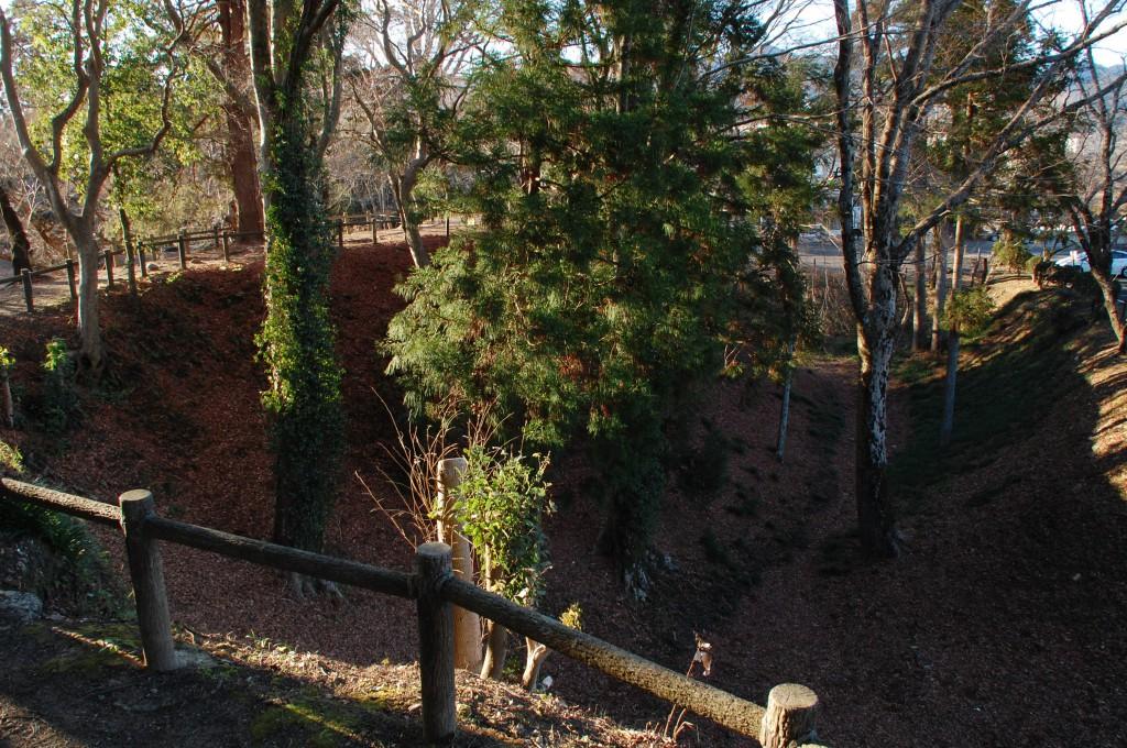 長篠城の内堀