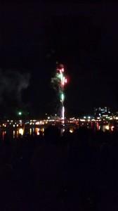 津島天王祭り 水上花火
