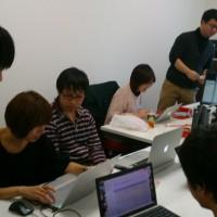 PHP勉強会の様子