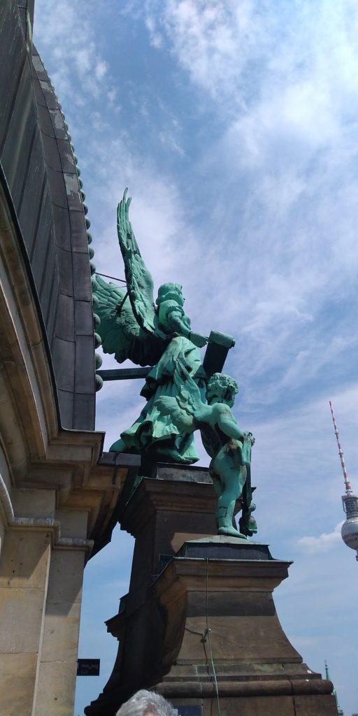 ベルリン大聖堂の屋上
